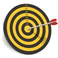 Bullseye on a target