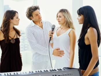Develop a charming voice